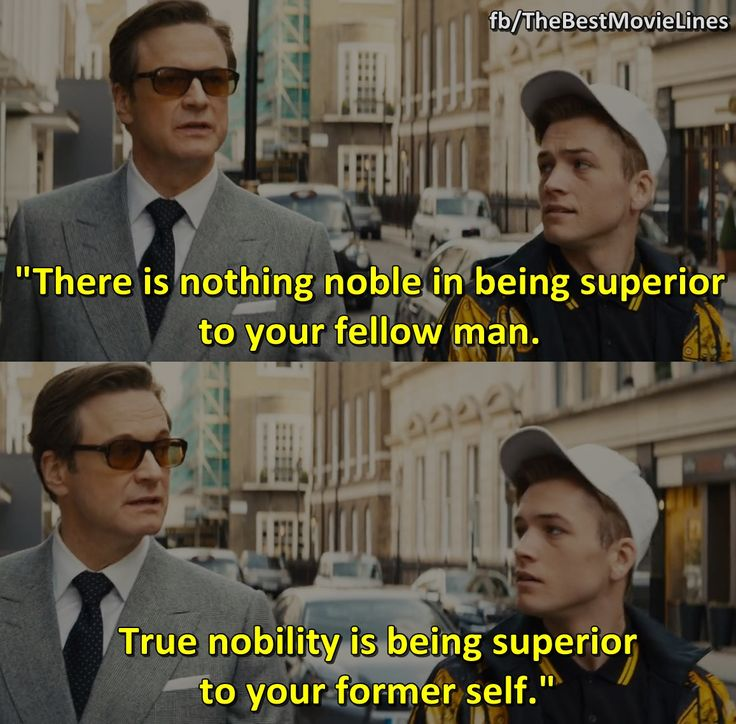 Hemingway Quoted In Kingsman