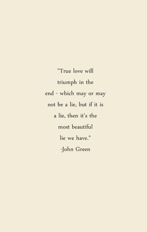 John Green I Love Him