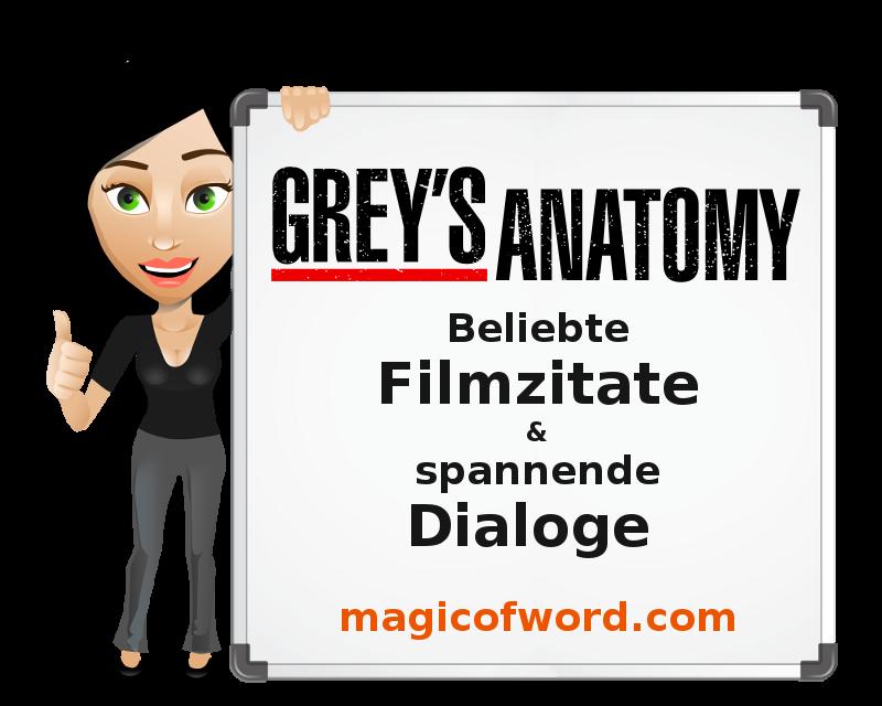 Filmzitate Aus Greys Anatomy