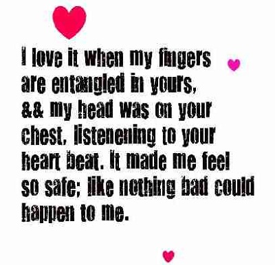 Cute Love Quotes Him Heart