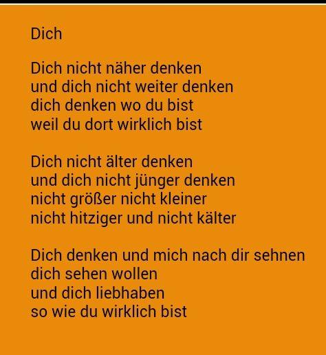 Dich Erich Fried Wohl Aller Schonste Liebeserklarung Der Welt