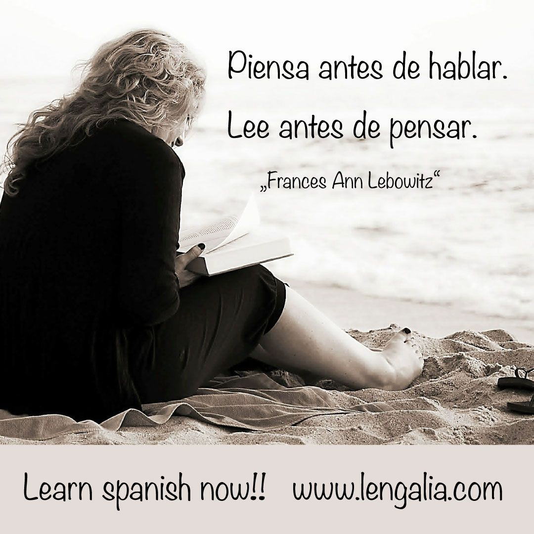 Spanisch Lernen Mit Lengalia Spanische Lebensweisheiten Zitate