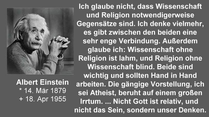Albert Einstein Wissenschaft Und Religion