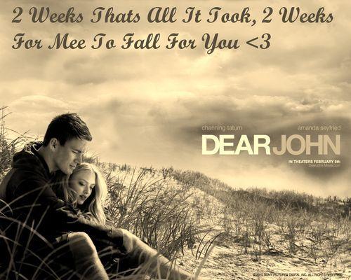 Dear John Channing Tatum Love Amanda Seyfriedchanning Tatumamanda Seyfrieddear