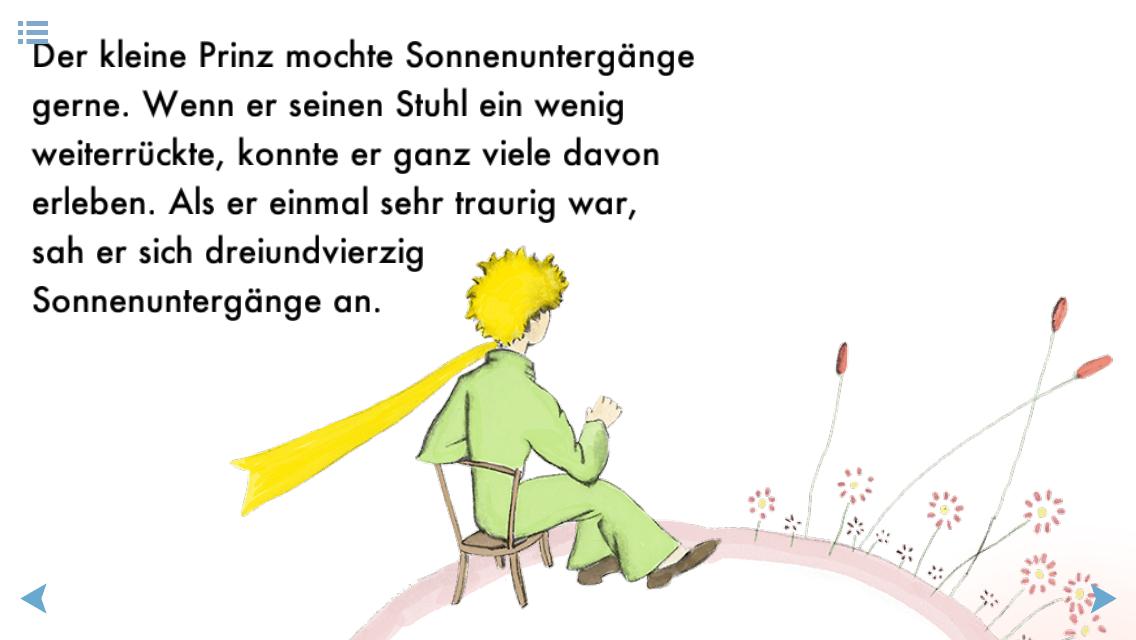 Dr Sommer Geschichten Der Kleine Prinz Efalinausgabe