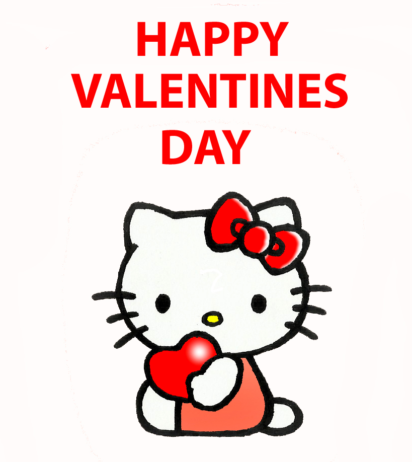 Happy Valentines Day Hello Kitty Quotes