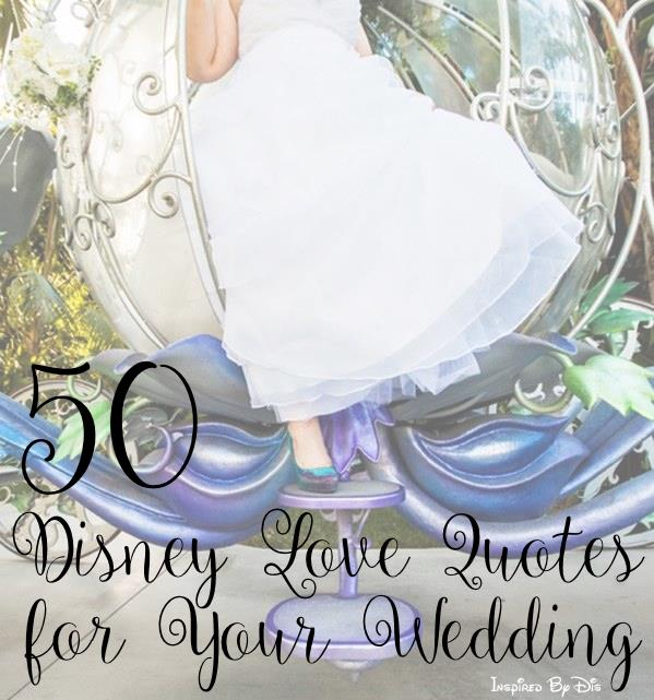 Disney Love Quotes For Your Wedding