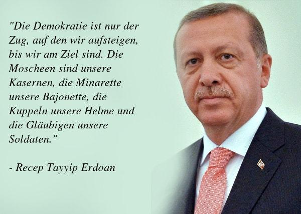 Erdogan Zitate Politische Haltung Des Turkischen Prasidenten
