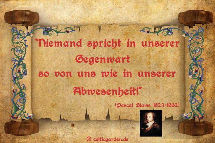 Zitat Pascal Blaise