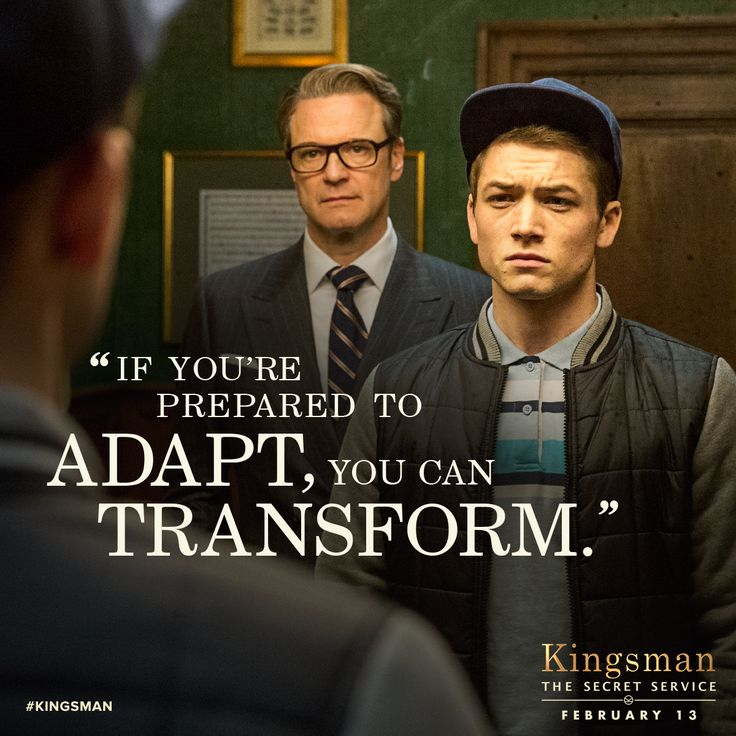 A Quote Of Kingsman The Secret Service