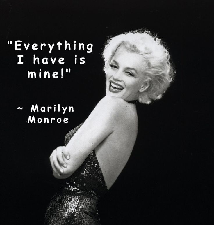 Marilyn Monroe Quotes Mm  Real Marilyn Monroe Quotes