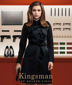 For The Girls Who Like The Kingsman Series Here Is The Roxy Coat Of Sophie
