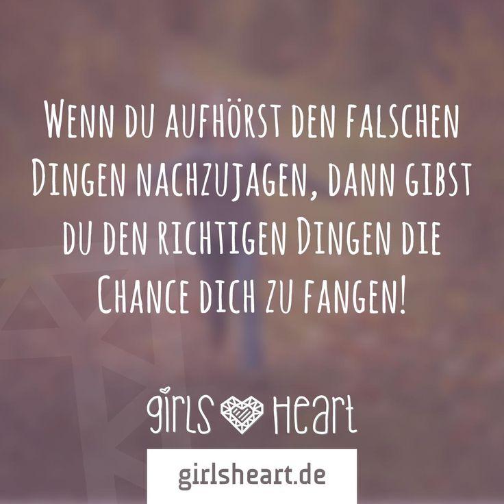 Mehr Spruche Auf Www Girlsheart De Ziele Chancen Leben