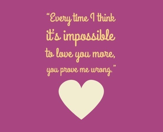 Fourth Cute Love Quote For Him