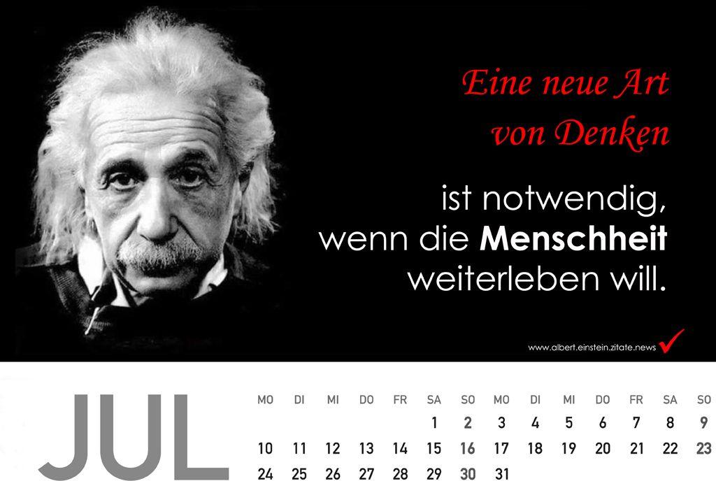 Kalender  Mit Zitate Von Albert Einstein Zitate News