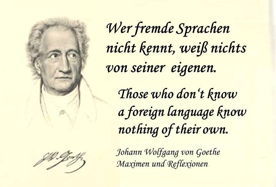 Goethe Sprache