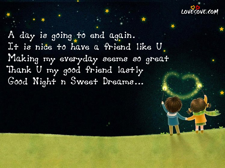 Good Night Quotes With Night Images For Best Romantic Love Poems
