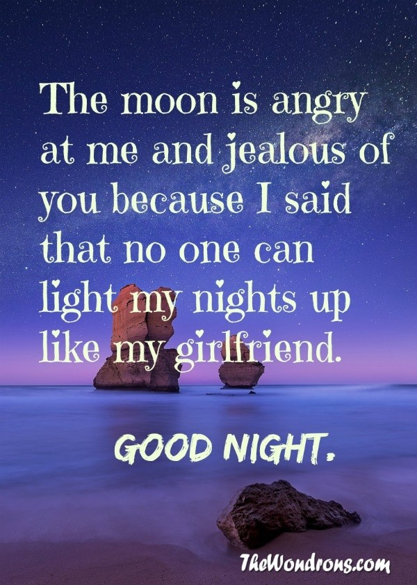 Good Night Quotes For Girlfriend Android Pictures