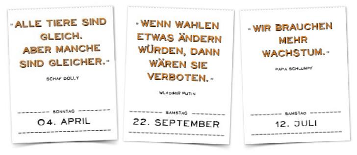 Marc Uwe Kling Kanguru Zitate Kalender Mit Falsch Zueordneten Zitate Stohl