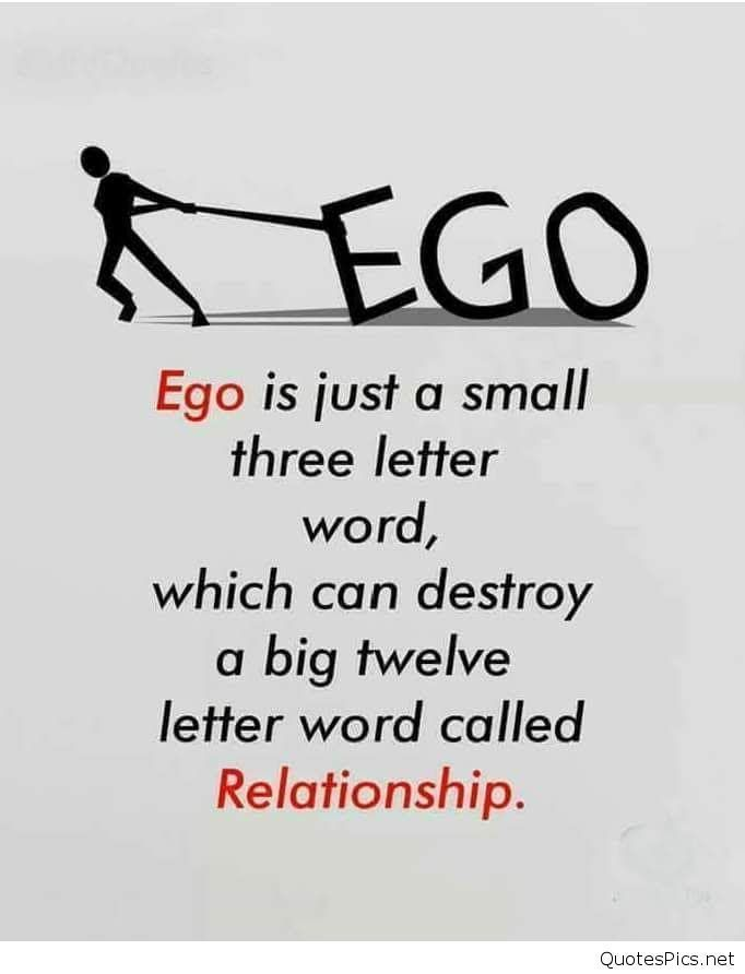 Quotes On Ego And Love
