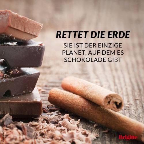Rettet Erde Sie Ist Der Einzige Planet Auf Dem Es Schokolade Gibt