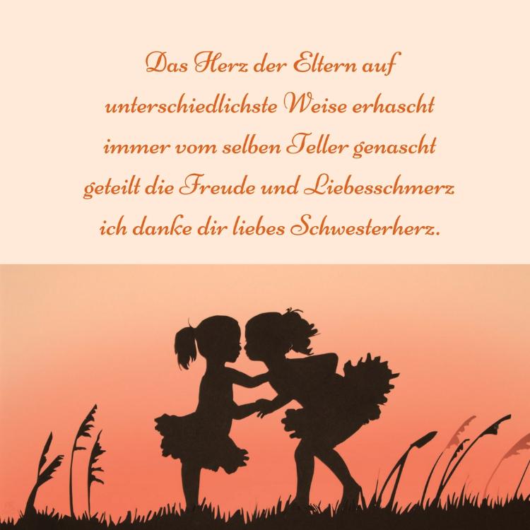 Schwester Spruche Familie Freude Bedanken  Schwester Spruche Lustige Zitate Und Weisheiten Uber Geschwister