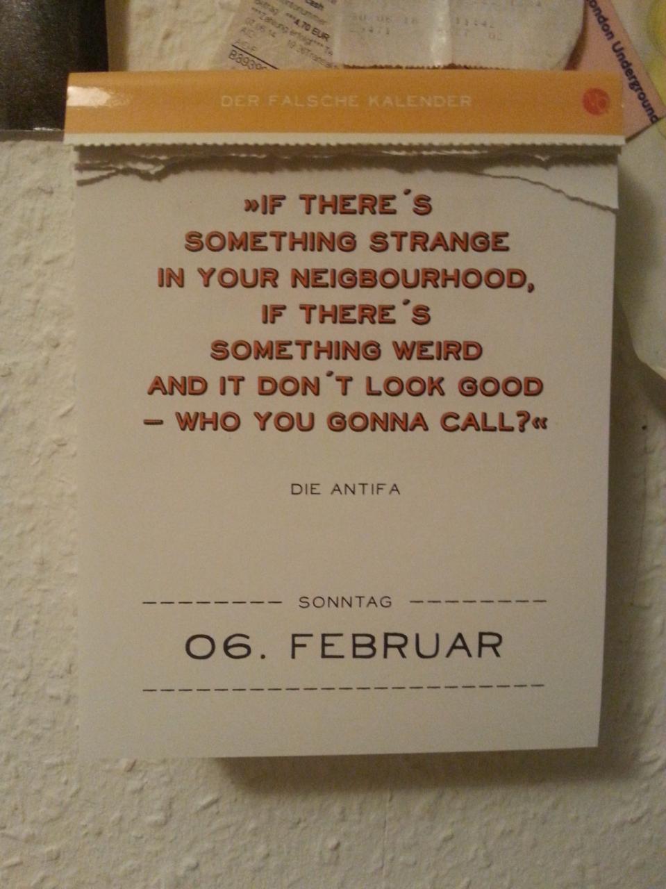 Eigentlich Wollte Ich Nix Vom Falschen Kalender Posten Aber Das Ist Einfach Zu Witzig Um Es