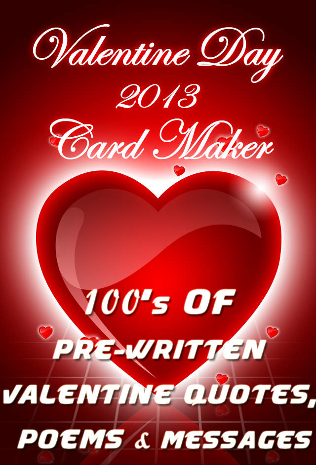 Valentine Day  Love Card Maker Pro Wish Happy Valentine To Him Or Her With