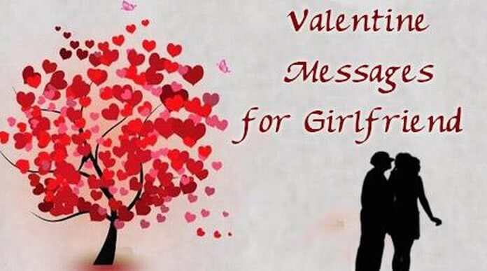 Sewwt Valentine Day Message For Girlfriend