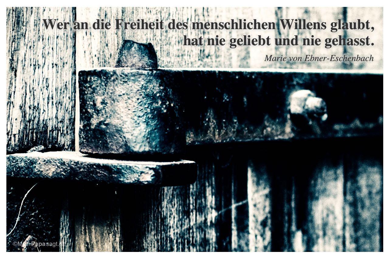 Freiheit Grenze Zitat