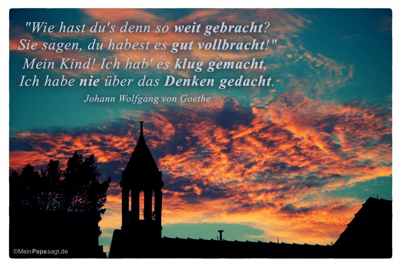 Goethe Zitate Und Spruche