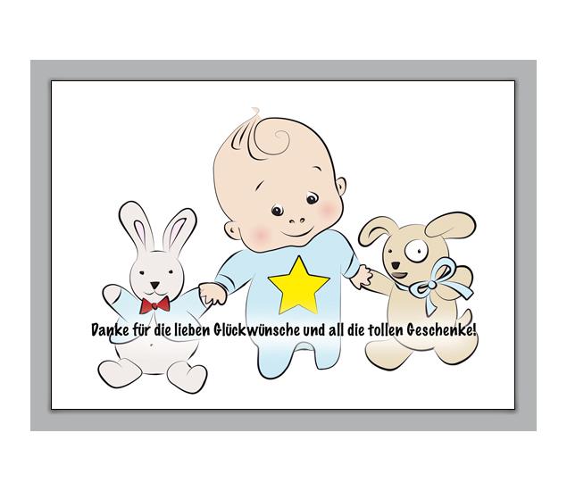 Suse Dankeskarte Fur Gluckwunsche Zur Geburt