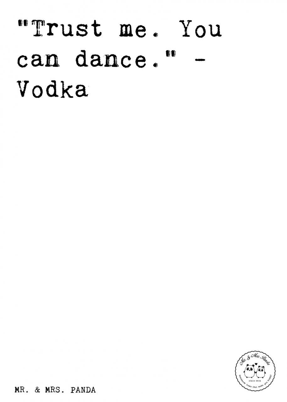 Vodka Spruche Zitat Zitate Lustig Weise Vodka Hochzeitsschild Tanzflache Geschenk Freundin Trauzeugin