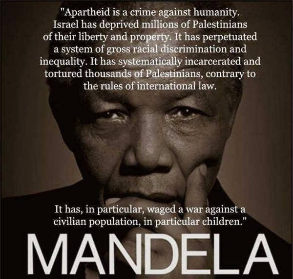 Nelson Mandela Quote On Palestine And Israel Palestine Freepalestine Freegaza Mandeladay