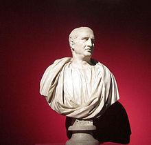 Buste Ciceros In Den Kapitolinischen Museen Rom
