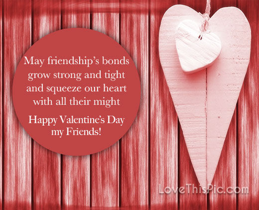 Happy Valentines Day Quote For Friends