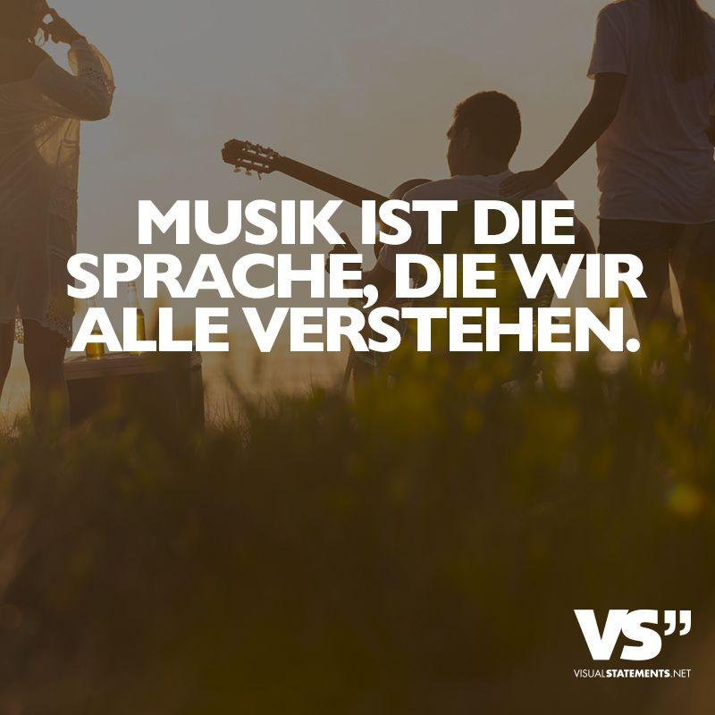 Musik Ist Sprache Wir Alle Verstehen Musik Pinterest Sprachen Musik Und Visual