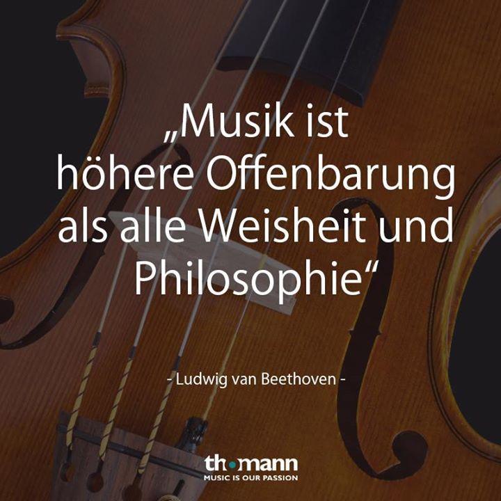 Musiker Zitate Musik Ist Hohere Offenbarung Als Alle Weisheit Und Philosophie