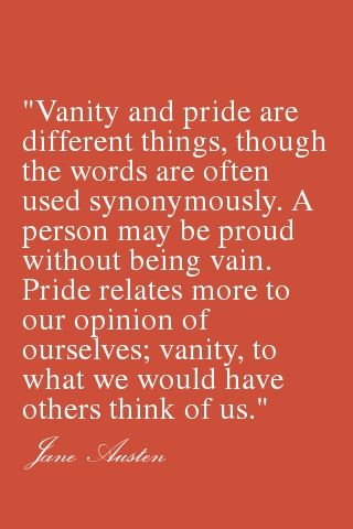 Jane Austen Disentangles Vanity And Pride The Words Of Mary Bennett A Wise Yet Plain Young Lady Shes One Of My Favorites