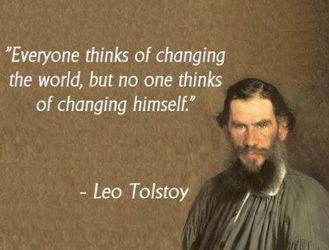 Leo Tolstoy Says