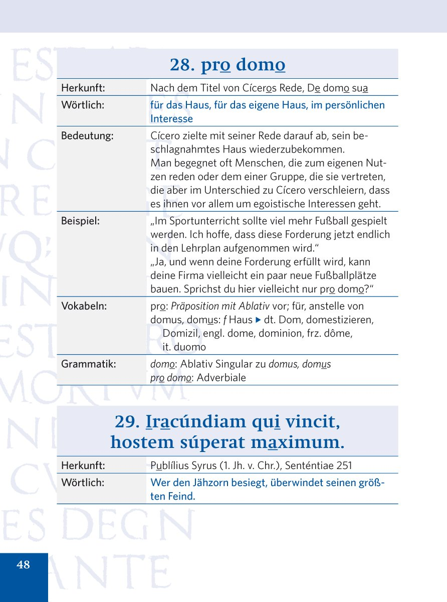 Pons Lateinische Redensarten Fur Alle Lebenslagen  Lateinische Spruche Und Wie Sie Sie Anwenden Sprichworter Und Zitate Amazon De Bucher