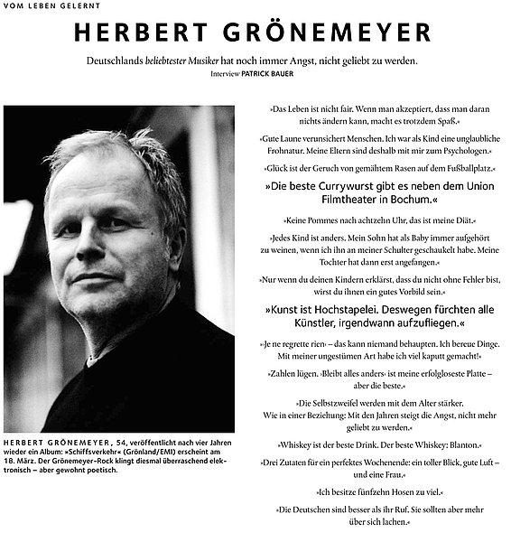 Gronemeyers Zitat Zur Besten Currywurst Ein Ausschnitt Aus Dem Herbert Gronemeyer