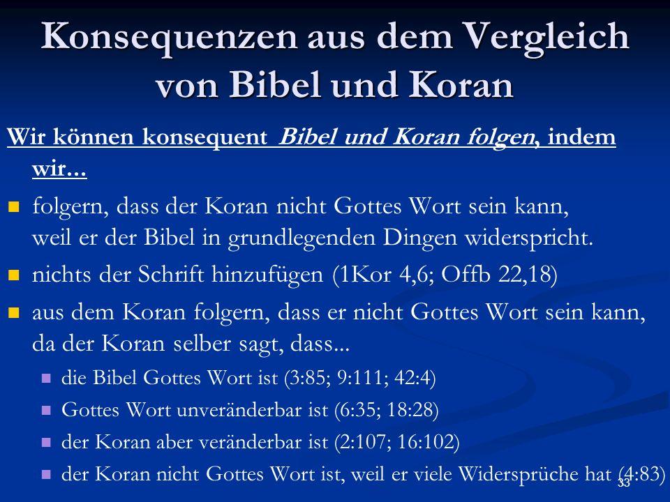 Bibel Und Koran Im Vergleich  Teil Ppt Herunterladen