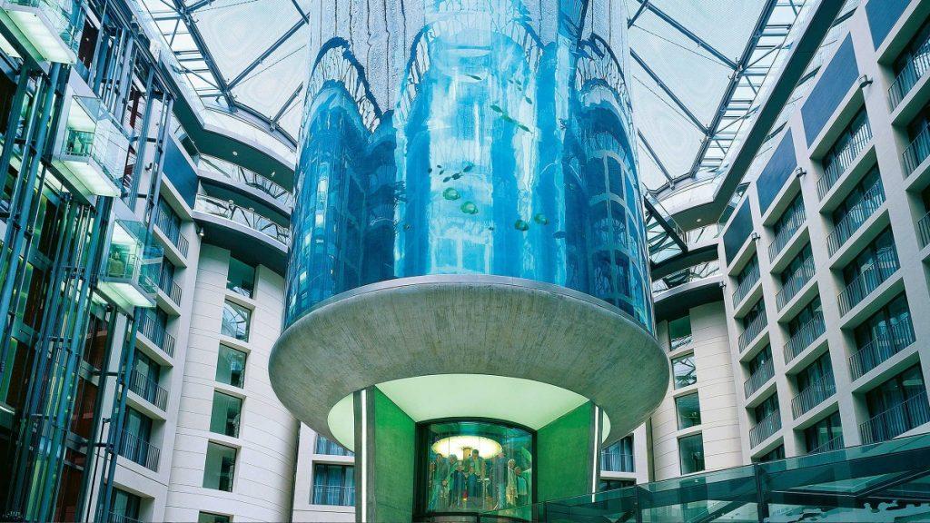 Restoran Bawah Laut Atrium Bar Radisson Blu Hotel, Berlin - Andrew Hidayat (AndrewHidyat.com)