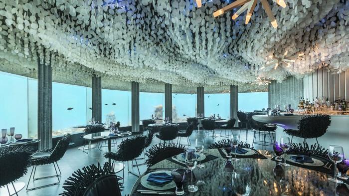 Restoran Bawah Laut Subsix Maladewa - Andrew Hidayat (AndrewHidyat.com)