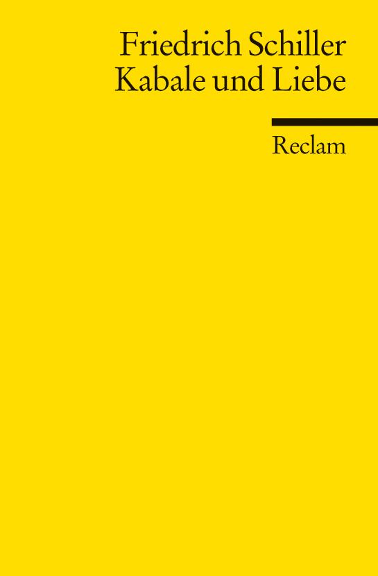 Kabale Und Liebe Von Friedrich Schiller Rezension Von Der Buchhexe