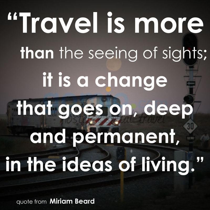 Reisen Ist Mehr Als Das Sehen Von Sehenswurdigkeiten Es Ist Eine Veranderung Auf Geht Tiefe Und Dauerhafte In Den Wohnvorstellungen Miriam Beard