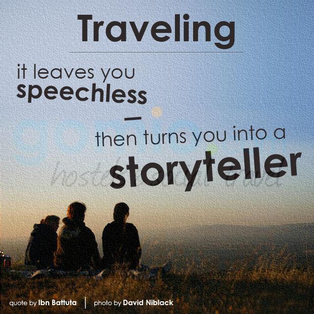 Reise Es Lasst Sie Sprachlos Macht Sie Zu Einem Geschichtenerzahler Dann Ibn Battuta