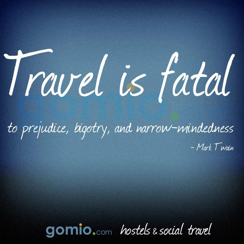 Reisen Ist Todlich Fur Vorurteile Bigotterie Und Engstirnigkeit Mark Twain