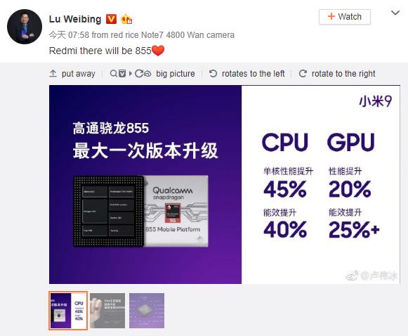 Xiaomi Vice President Mengumumkan Smartphone Xiaomi akan Dibenamkan Snapdragon 855 - Andrew Hidayat (AndrewHidayat.com)